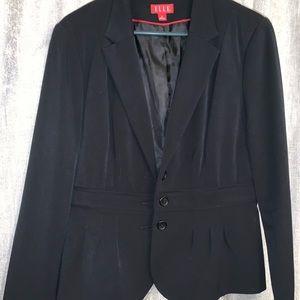 Single-Breasted Black Blazer